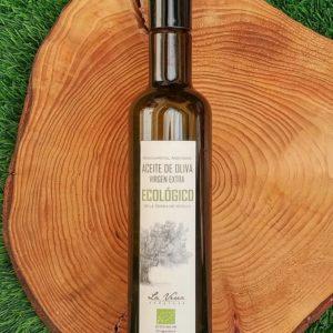 aceite ecológico la verea andaluza botella medio litro