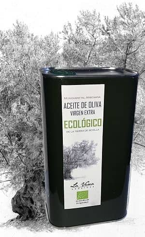 aceite ecológico la verea andaluza lata olivar